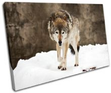 Wolf Wildlife Animals - 13-1168(00B)-SG32-LO